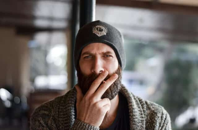 how to keep beard hairs from sticking out