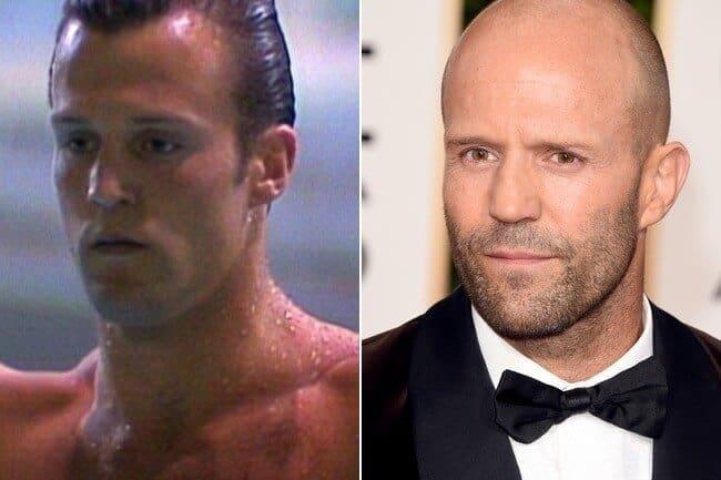 Jason Statham with hair vs  Buzz cut hairstyle