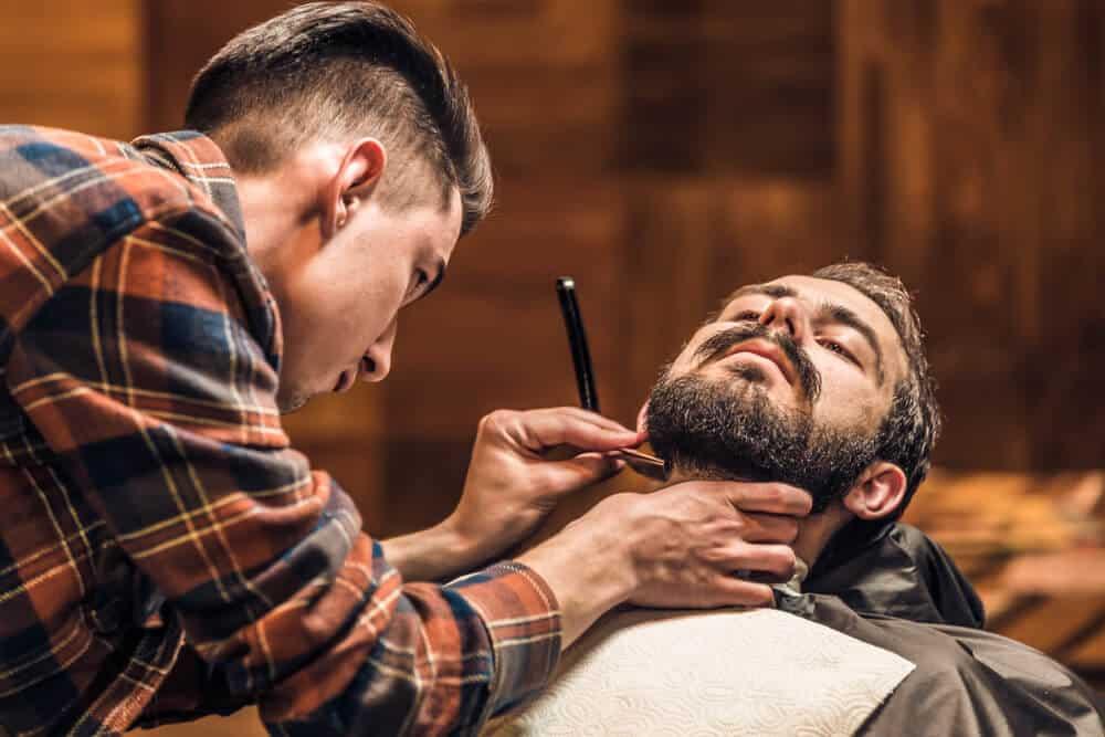 trim long goatee