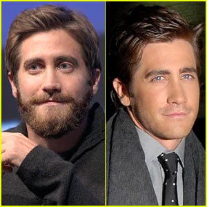 jake-gyllenhaal with and without beard